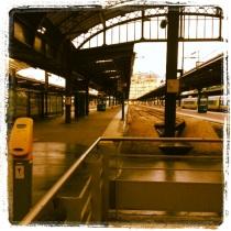 Gare de l'est. Paris