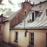 Paris: les toits en zinc