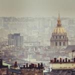 Les Invalides vus de Montmartre